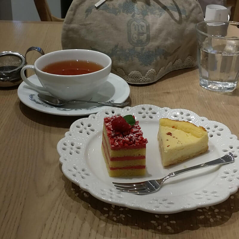 マザーリーフ横浜スカイビル店 プチケーキプレート