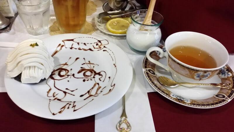 ワンダーパーラー 紅茶とディッシュアート