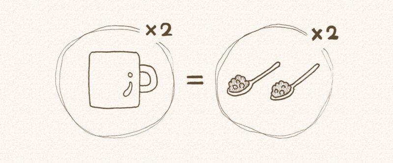 ロイヤルミルクティーの作り方 ステップ2