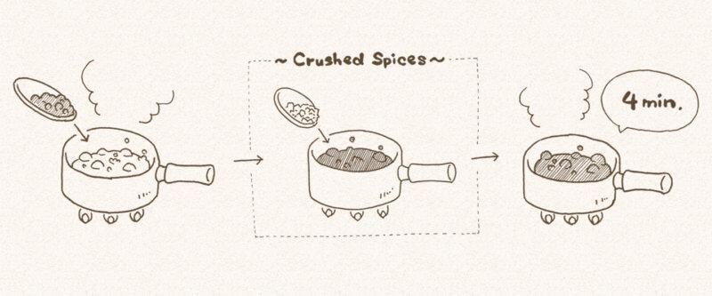 チャイの作り方 ステップ3