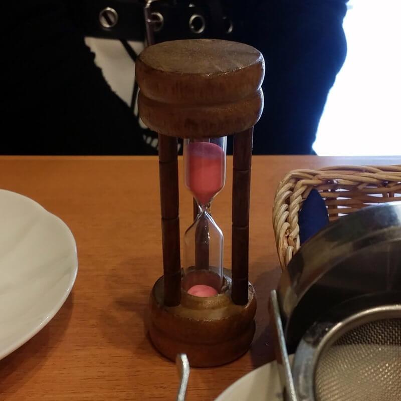 青山ティーファクトリー 砂時計