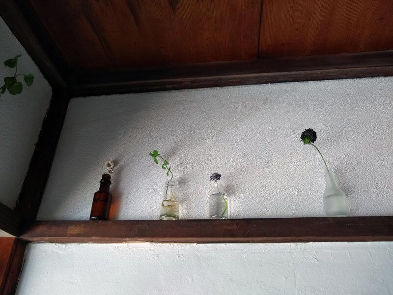 シュガーコート 壁面のディスプレイ