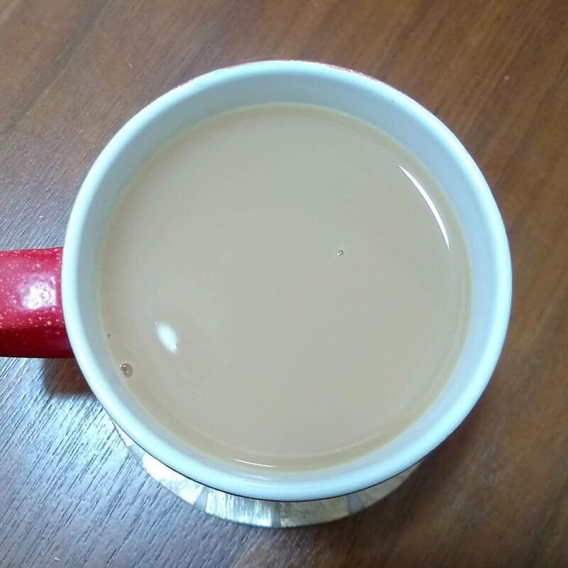 アーマッドティーのイングリッシュアフタヌーン ミルクティー水色