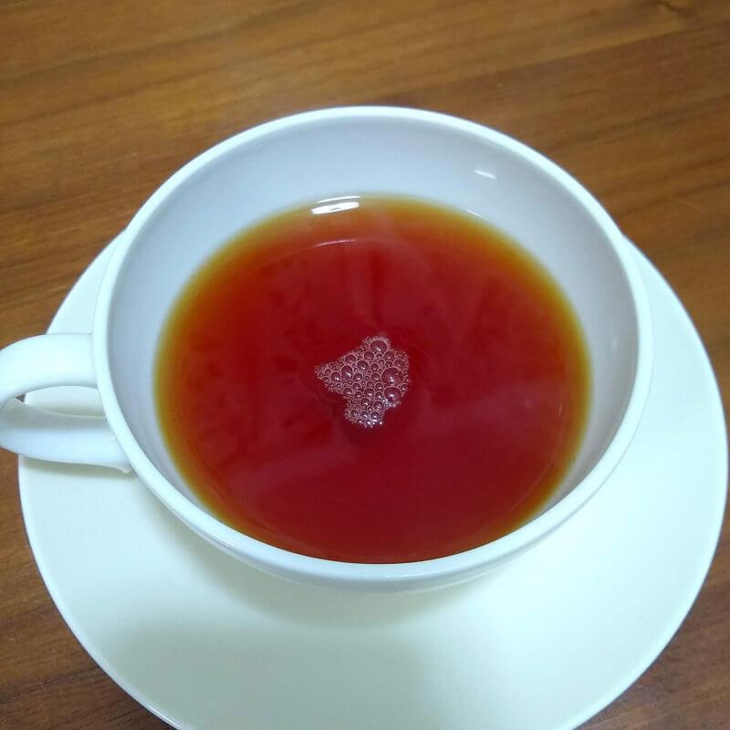 青山ティーファクトリーのルフナ ストレート水色