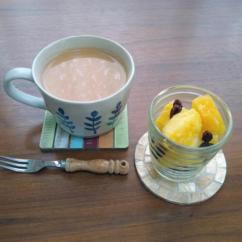 ブンブン紅茶店のアッサムCTC フルーツと合わせて
