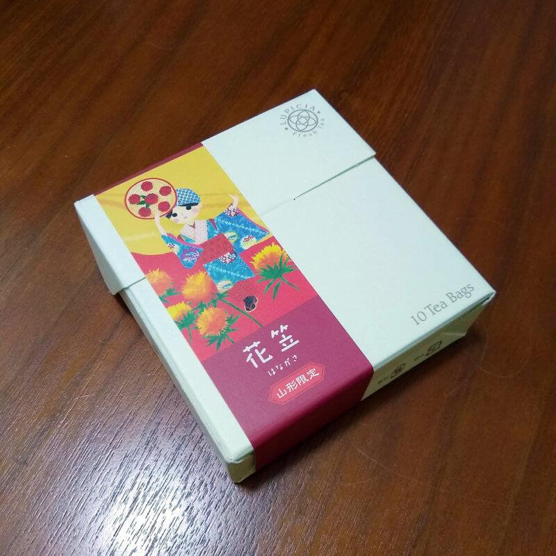 ルピシアの花笠 外箱