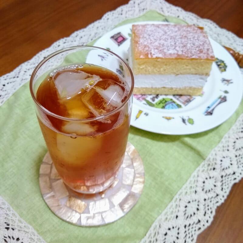 ジュピターの水出し紅茶ダージリンブレンド ケーキと合わせて