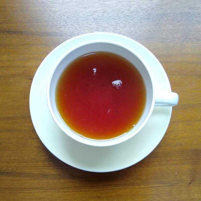 沖縄ティーファクトリーのサンセットヌーボー ストレート水色