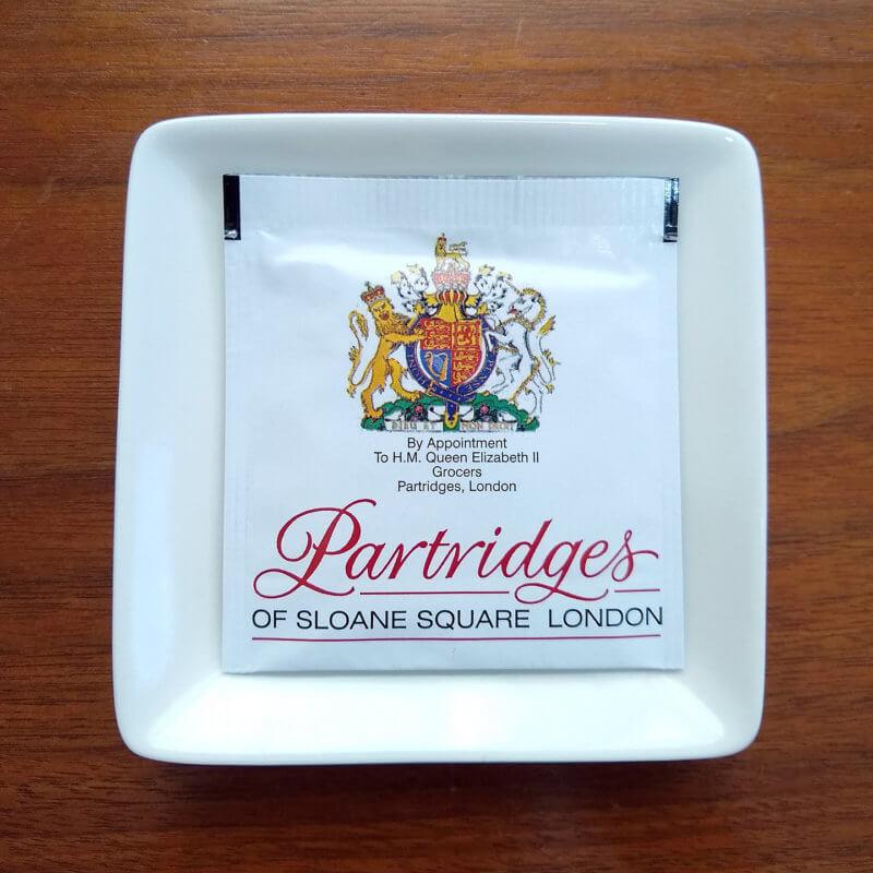 パートリッジスのミスターシェパードブレンド ティーバッグ個包装